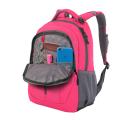 Wenger - 3020804408-2 Рюкзак WENGER, розовый/серый, полиэстер 600D/420D, 32x15x45 см, 22 л (3020804408-2)