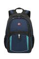 Wenger - 3191203408 Рюкзак WENGER, синий/черный/бирюзовый, полиэстер 600D/2 мм рипстоп/фьюжн, 33x15x45 см, 22 л.  (3191203408)
