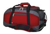 Wenger - 52744165 Сумка спортивная WENGER, красный/серый/чёрный, полиэстер 1200D, 52х25х30 см, 39 л. (52744165)
