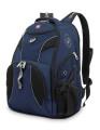 Wenger - 98673215 Рюкзак WENGER, синий/черный, полиэстер 900D/М2 добби, 34x17x47 см, 26 л. (98673215)